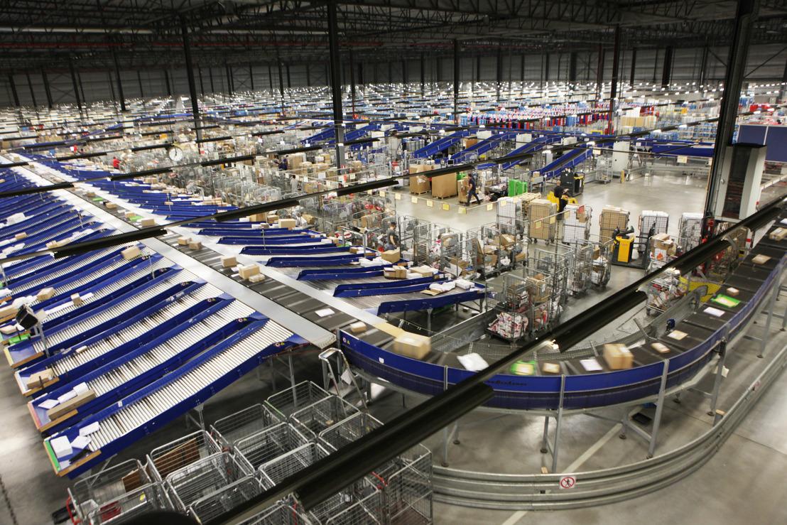 bpost group vermindert haar CO2-uitstoot met 1.000 ton per jaar dankzij de installatie van LED verlichting door ENGIE Solutions