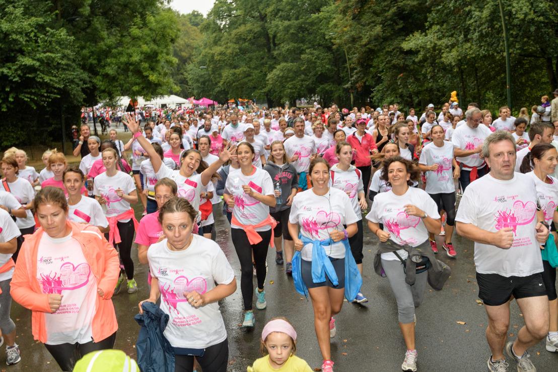 Pink Power ! Namur en rose pour la lutte contre le cancer du sein