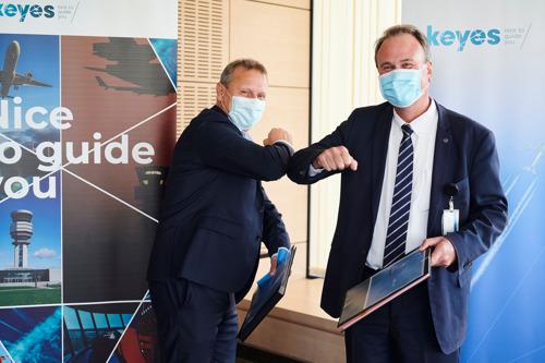 skeyes conclut un partenariat avec Saab pour l'installation de tours numériques