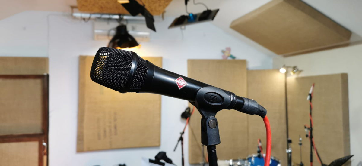 The Neumann KMS 105 has been Ola Onabulé's favourite vocal mic for the past 12 years
