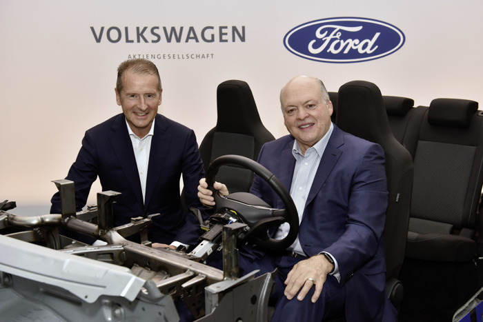Preview: Ford – Volkswagen expand their global collaboration to advance autonomous driving, electrification and better serve customers
