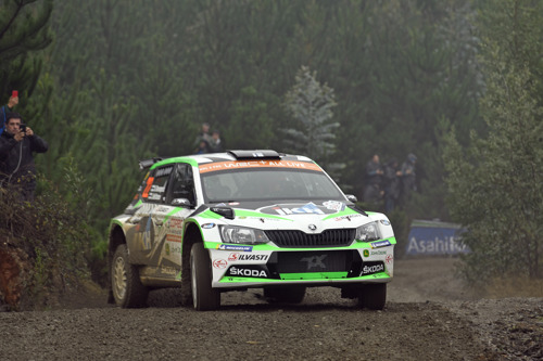 Rally Chile: ŠKODA works driver Kalle Rovanperä conquered first victory in WRC 2 Pro category