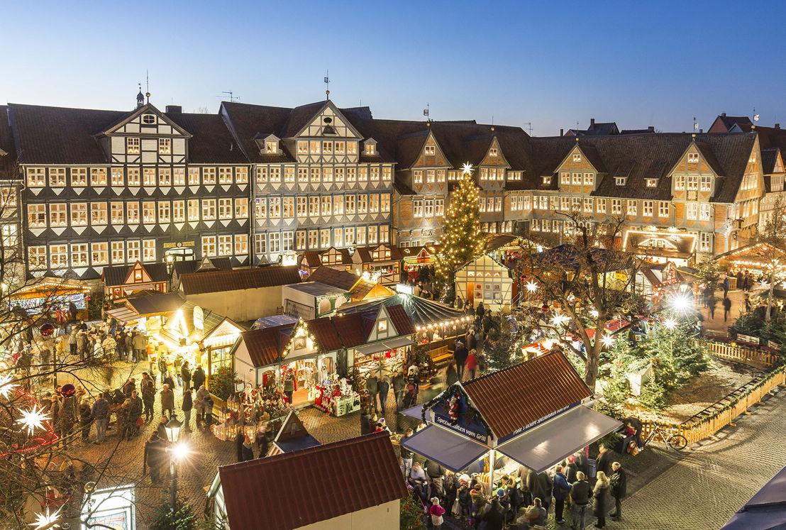 Weihnachtsmarkt Wolfenbuttel total, Fotograf Ch ristian Bierwagen, Rechte Stadt Wolfenbüttel