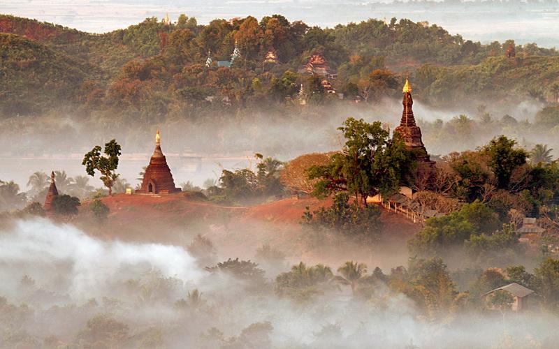 Myanmar_Mrauk U Temples