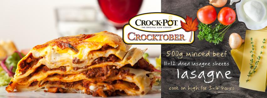 Crocktober - Lasagne
