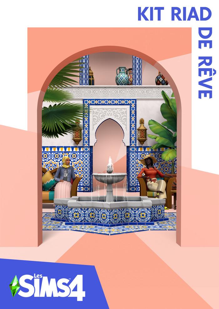 Les Sims 4 annonce le kit Riad de rêve, disponible le 18 mai