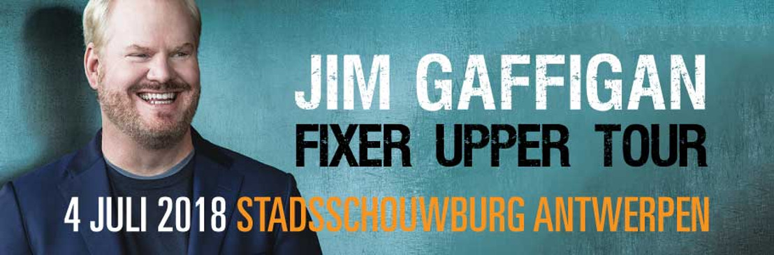 King of observational humor Jim Gaffigan is coming to Belgium