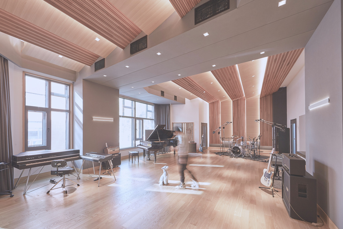 TC Zhou Debuts WSDG Design For Beijing's Studio 21A And TC Faders