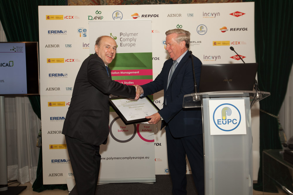Philip Law, BPF (for Lotte Chemical) & Ron Marsh, Chairman
