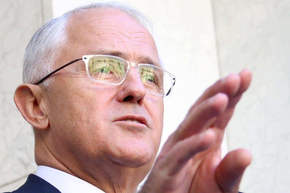 Malcolm Turnbull (photo credit: ABC / Adam Kennedy)