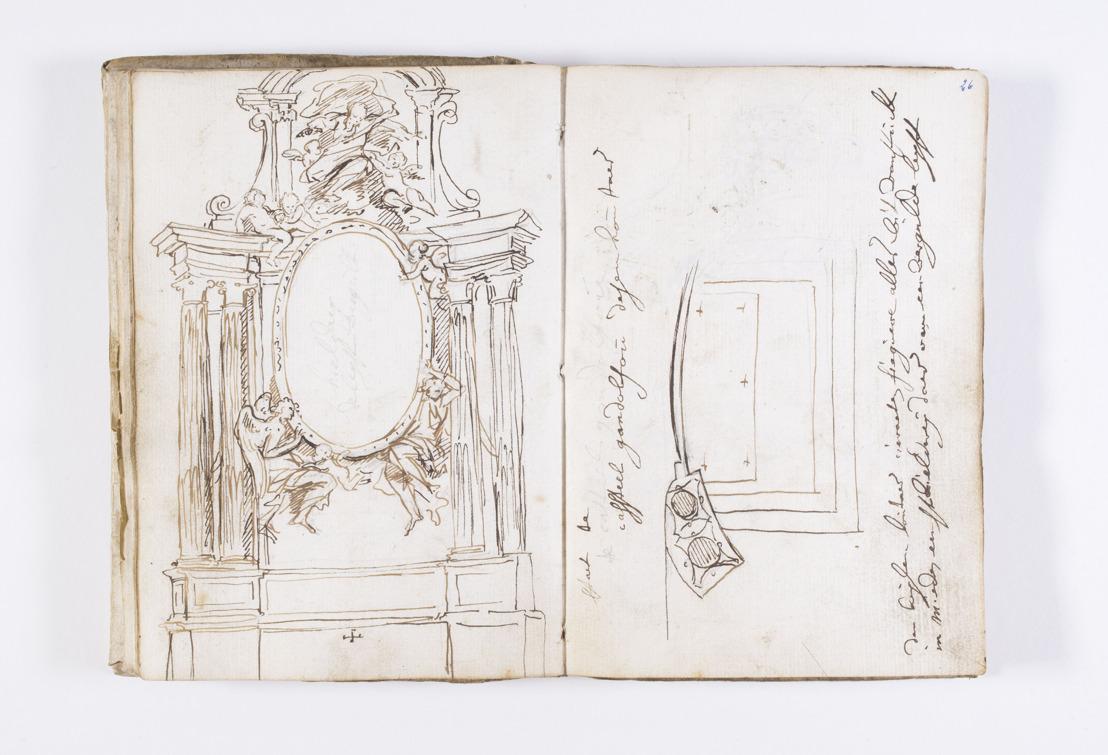 Utopiakaart van Ortelius en schetsboeken van Pieter II Verbruggen naar Antwerpen