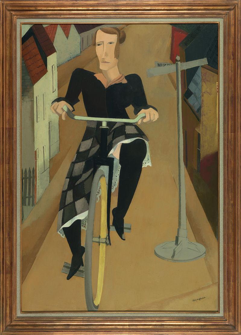 Hubert Malfait, De fietster