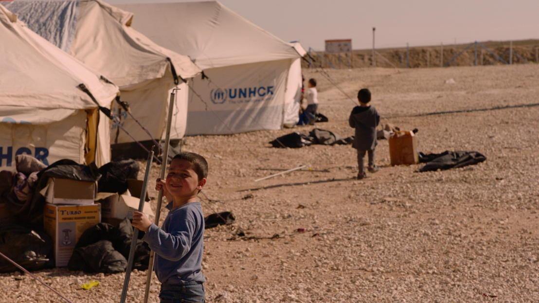 VDZVDV - aflevering 3 : Kinderen in opvangkamp - (c) VRT
