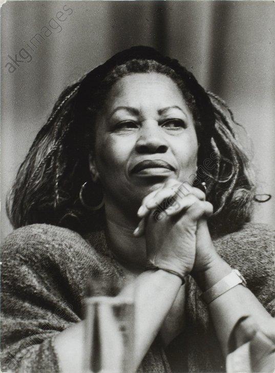 Morrison, Toni (born Chloe Ardelia Wofford),<br/>born 1931, American novelist and professor.<br/>AKG3551712