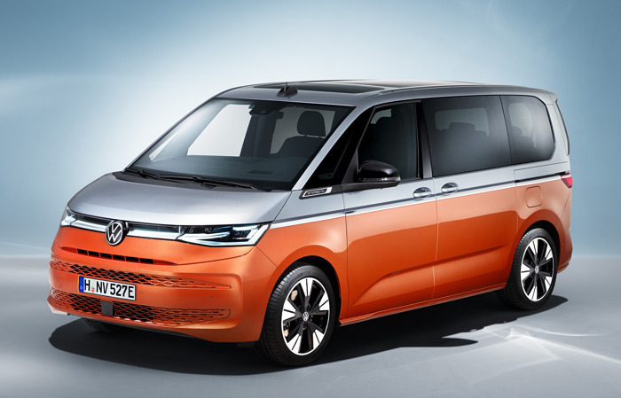 Wereldpremière van de nieuwe Multivan - een nieuw gevoel van rijden richt zich op de toekomst