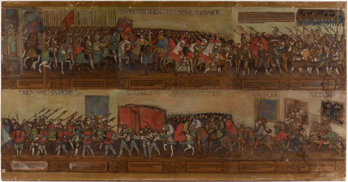 Preview: Uiterst zeldzame prent van Keizer Karel onder de hamer