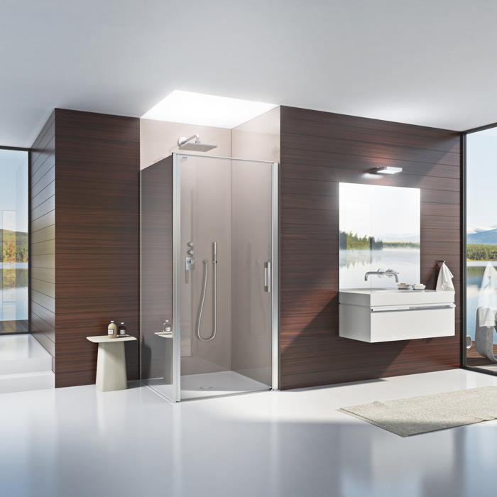 A Batibouw, découvrez Duscholux, le spécialiste  de la salle de bain !