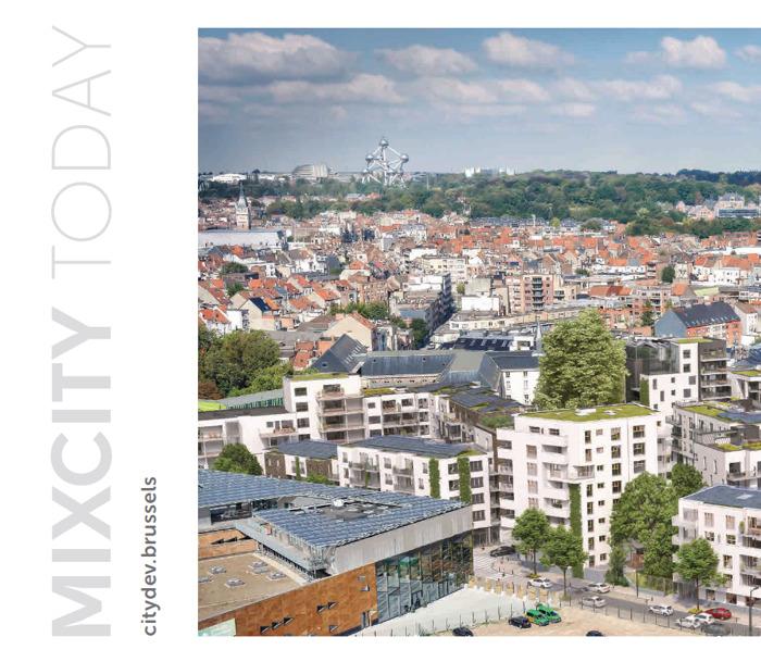 MixCity Today - Les huit projets mixtes les plus emblématiques de citydev.brussels