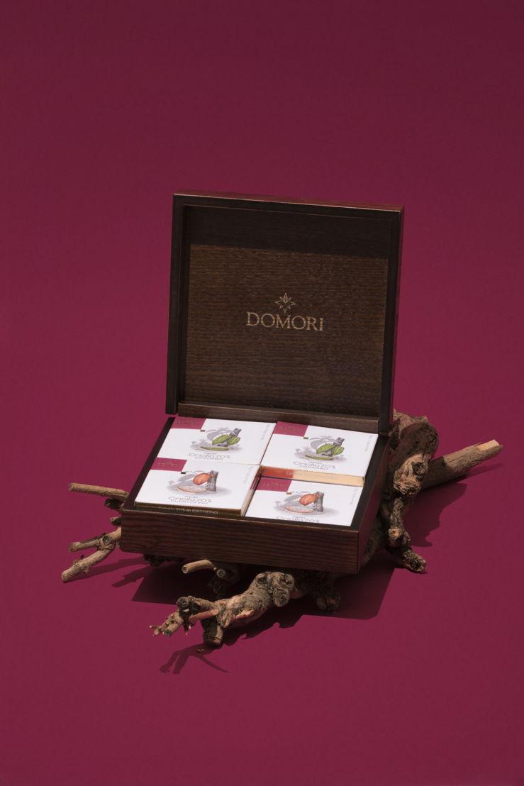 Cofanetto vintage Domori
