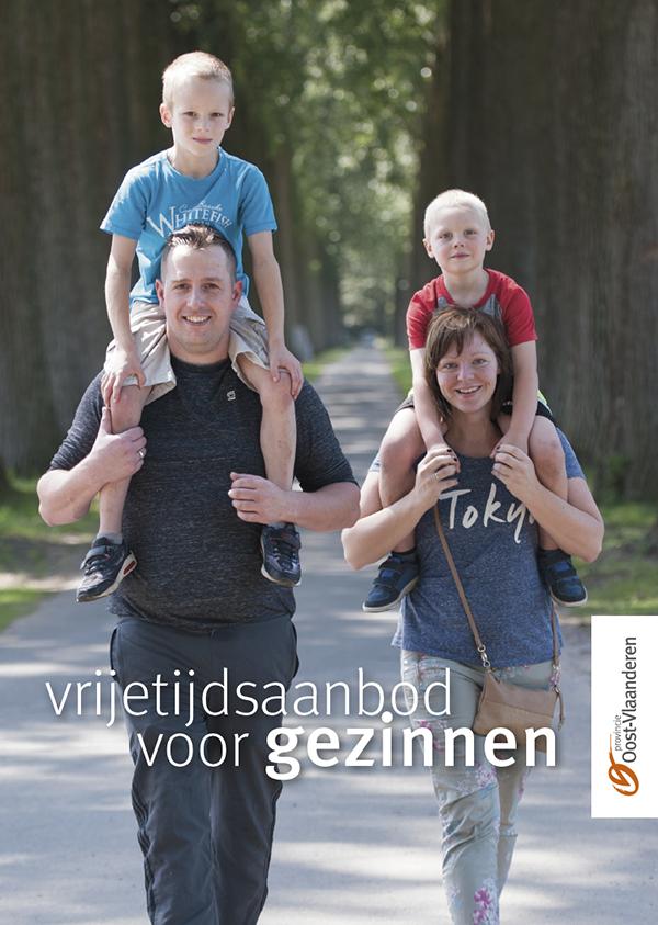 Provincie Oost-Vlaanderen lanceert nieuwe brochure 'vrijetijdsaanbod voor gezinnen'