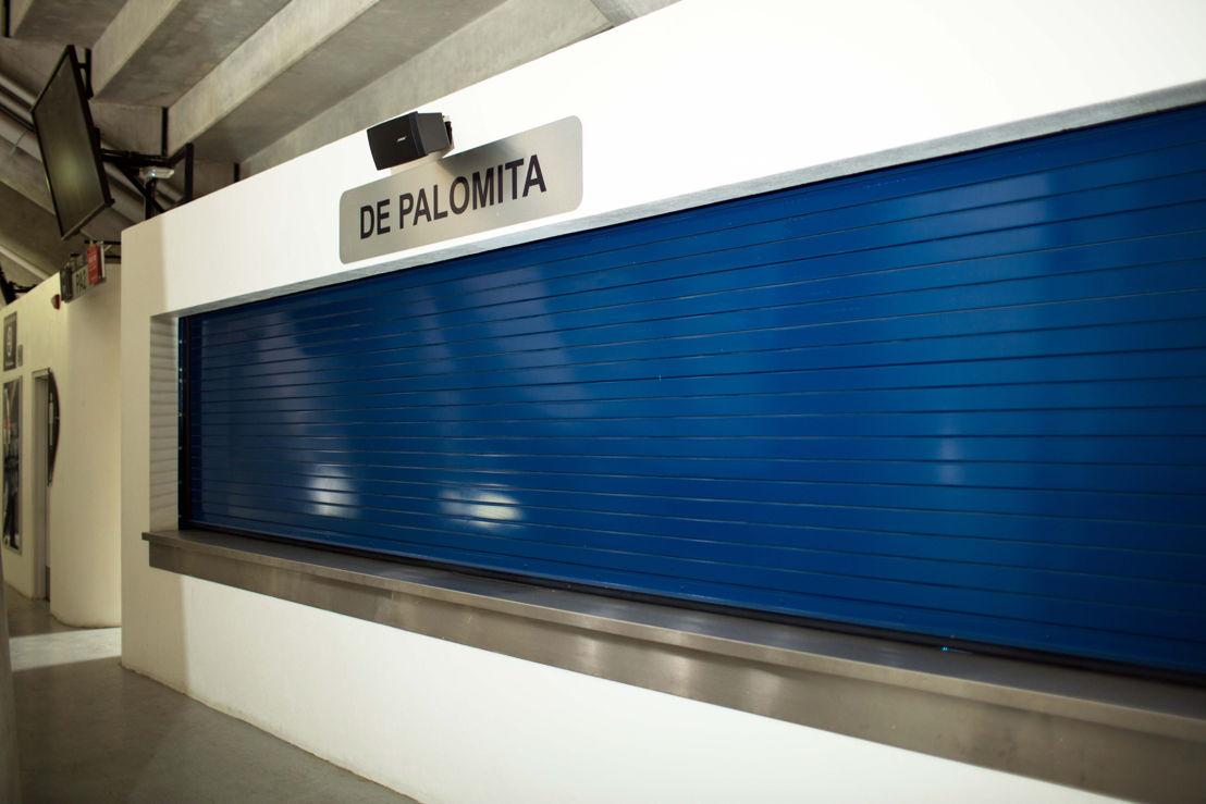 Altavoces Bose en pasillos y puntos de venta estadio Rayados
