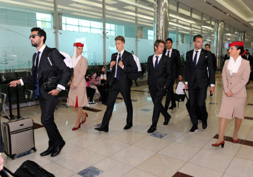 Spanish titans Real Madrid land in Dubai for the first time ready to take the Dubai Football Challenge crown from AC Milan