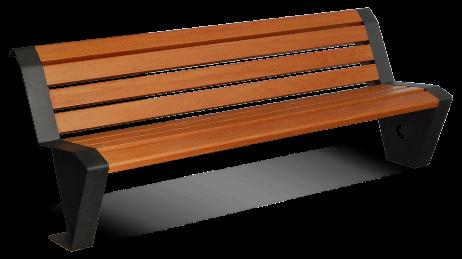 Bench Essenza with Accoya wood