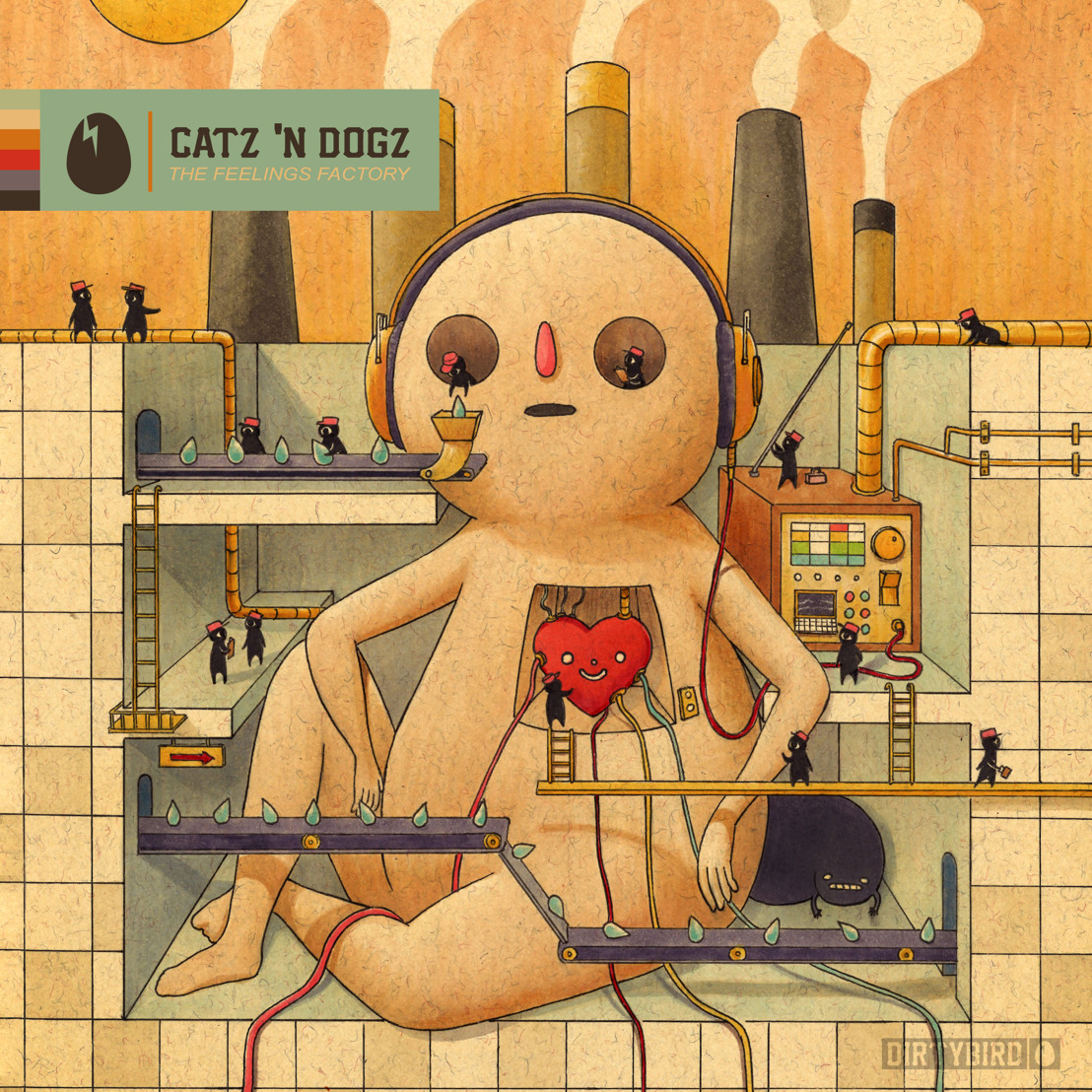 Catz 'N Dogz Come Back To Roost on DIRTYBIRD with The Feelings Factory EP