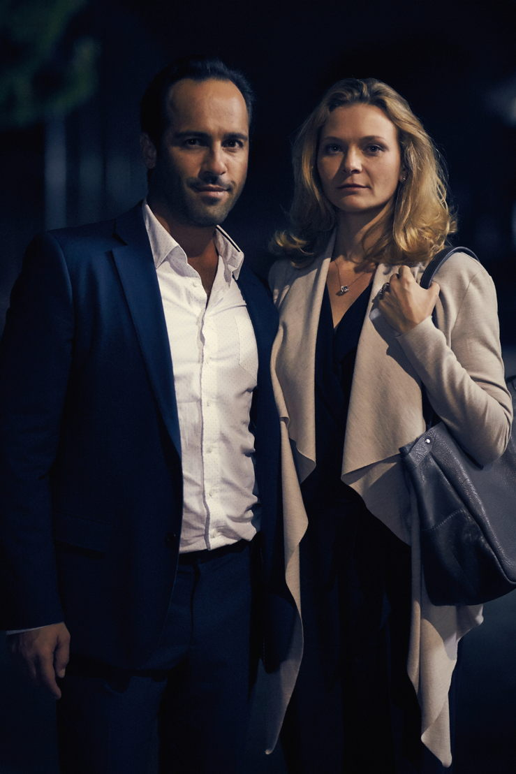 Alex Dimitriades as Joe with Leeanna Walsman as Anna in Seven Types of Ambiguity