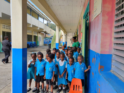 US Embassy Visit to Saint Lucia Highlights Success of OECS/USAID Early Learners Programme!