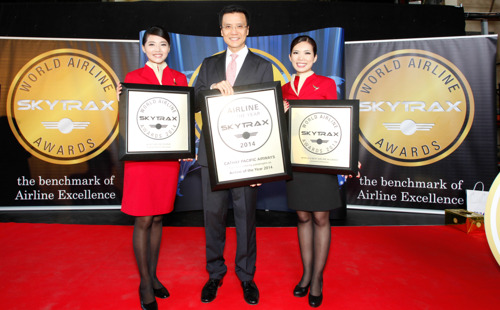 Cathay Pacific Named 'World's Best Airline' For Fourth Time In Annual Skytrax Awards
