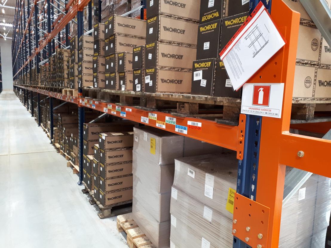 Firma Tenneco otwiera Centrum Logistyczne Monroe® w Gliwicach, w Polsce
