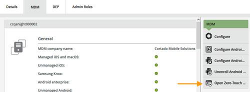 Cortado Mobile Solutions ist offizieller Android Zero-Touch Enrollment EMM-Partner