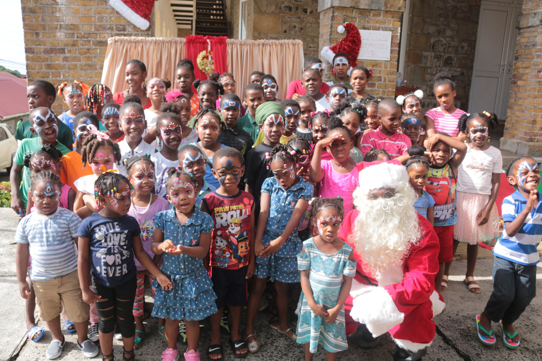 Des Barras Combined School Celebrates Christmas with OECS Commission Staff