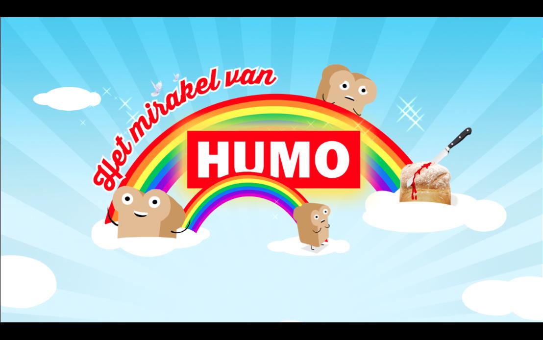 HUMO deelt brood uit.