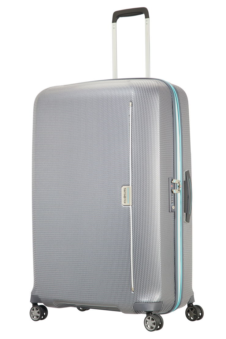 Samsonite_MIXMESH_Spinner 81_Grey/Capri Blue