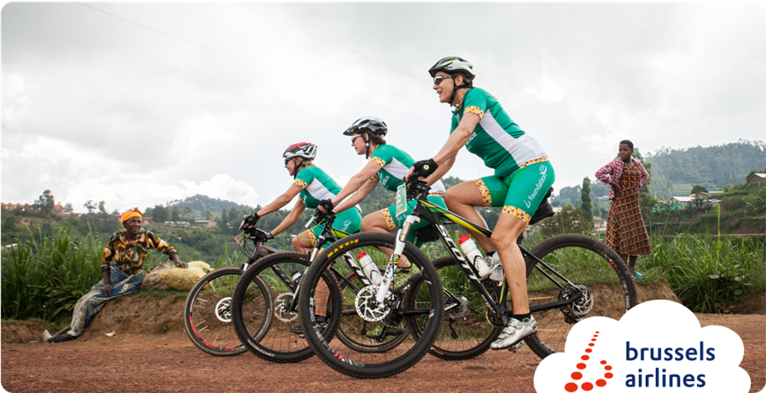 The fifth Bike for Africa edition raised €41,000 for sustainable development in Rwanda