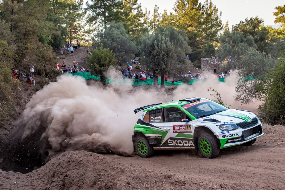 ŠKODA at RallyRACC Catalunya: New WRC 2 champion Jan Kopecký wants to crown season with another win