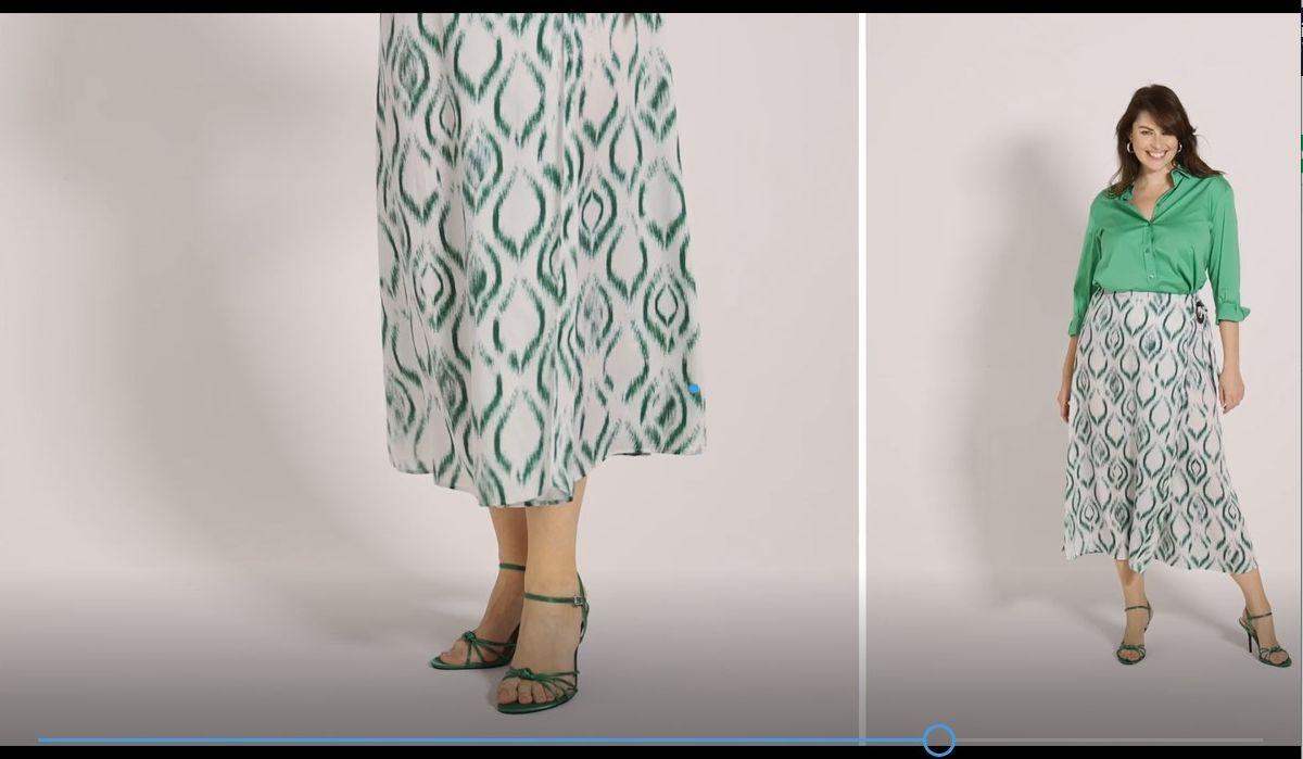 Still uit de SS21 virtual catwalk