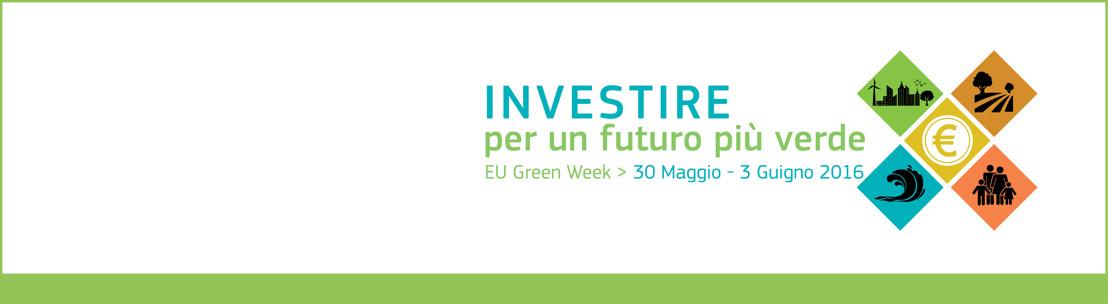 Investire per un futuro più verde: l'Unione europea lancia la Green Week 2016