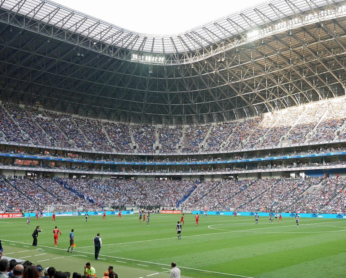 Estadio BBVA Bancomer - Monterrey vs Toluca, 7 de mayo 2016