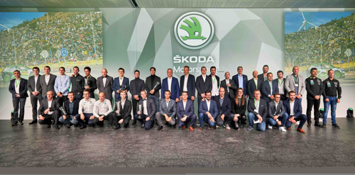 ŠKODA Motorsport celebrates with 30 title wins the most successful year in its history