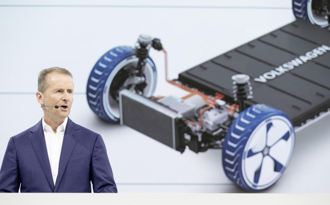 Volkswagen planea 22 millones de vehículos eléctricos en diez años