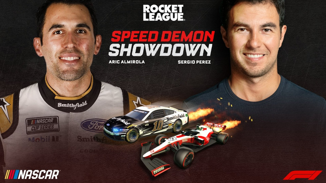 Pilotos de Fórmula 1® y NASCAR se enfrentarán en Rocket League