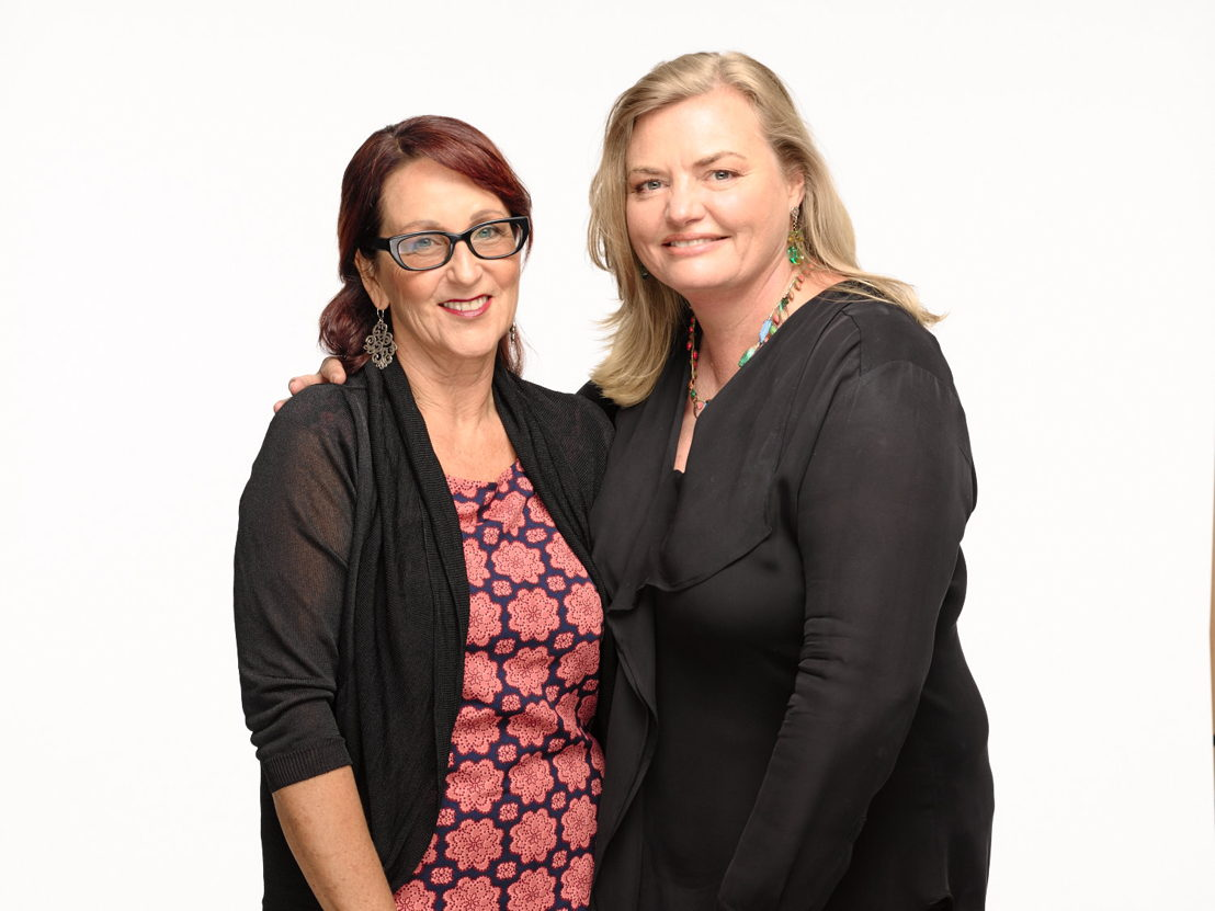 L-R Deb Cox and Fiona Eagger from Every Cloud Productions