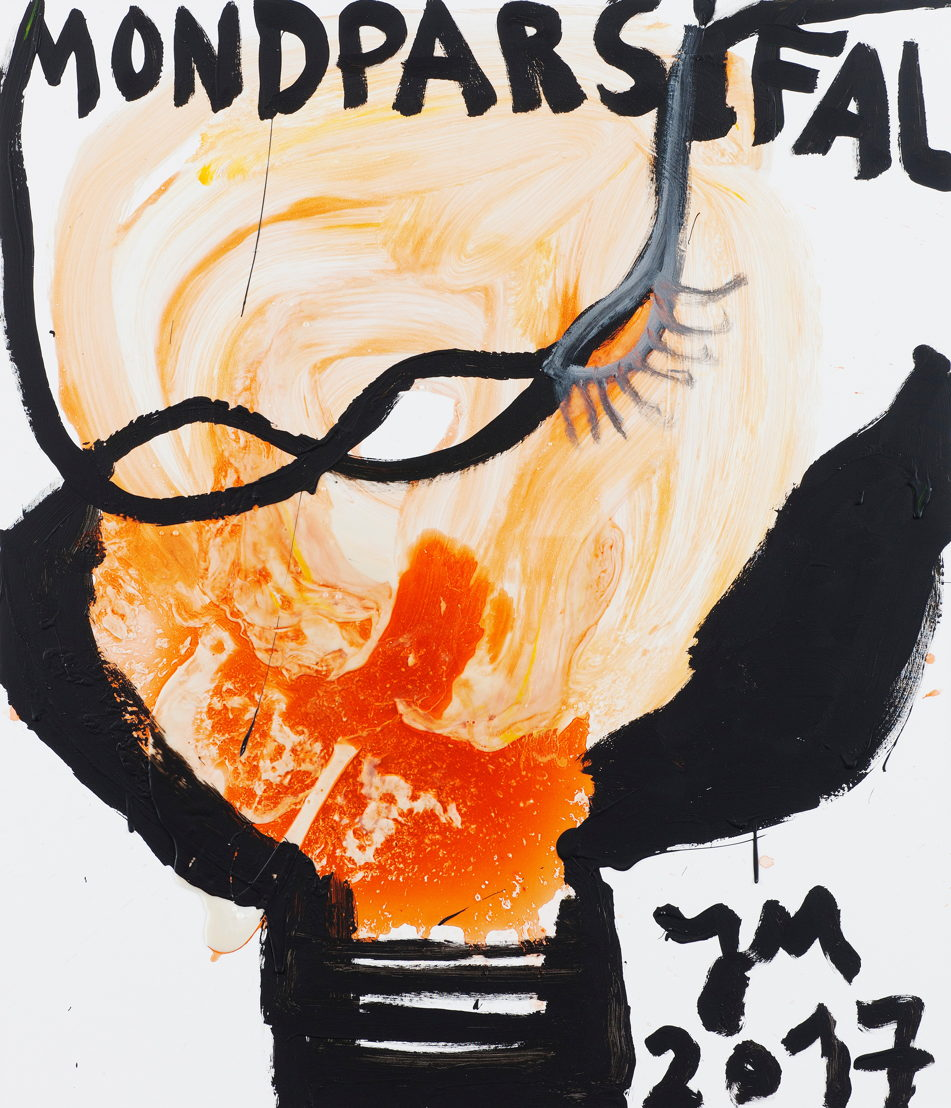 JONATHAN MEESE, DER WICHTIGSTE STÖRENFRIED, 2017. <br/>acrylic and Caparol-dispersion binder on canvas. Courtesy Tim Van Laere Gallery, Antwerp