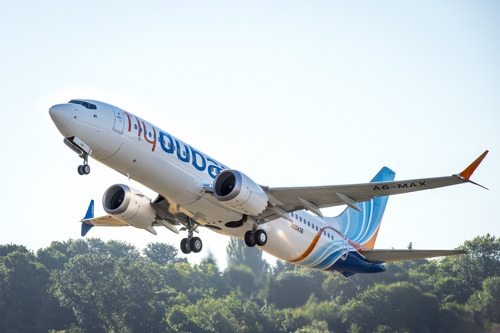 The 737 MAX aircraft is ready to flydubai