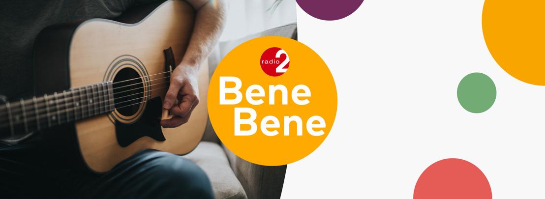 Radio 2 steunt de artiesten van bij ons met muziekstream Radio 2 Bene Bene