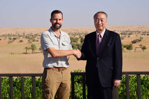 DDCR Welcomes the President of the IUCN