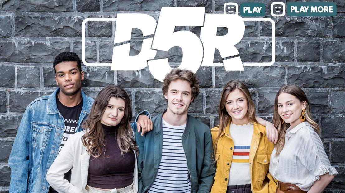 Eerste beelden van Amber, Kyra, Leyla, Vincent en Wout in seizoen zes van D5R
